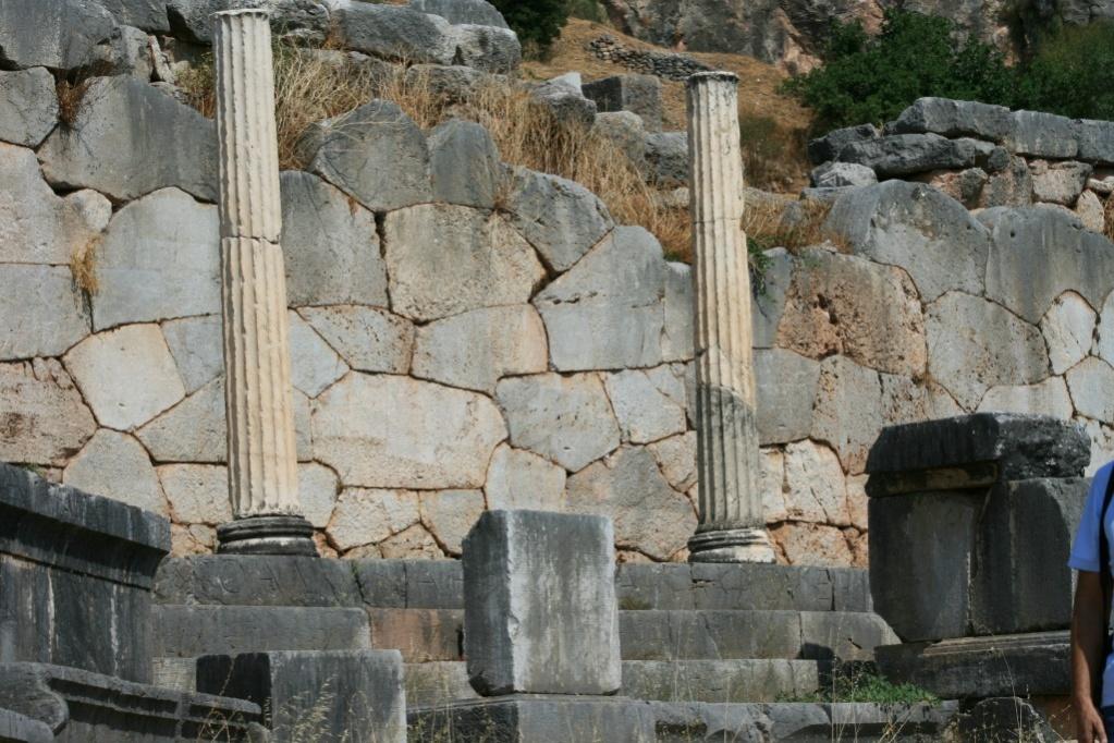 Greece Delphi Polygonal Wall