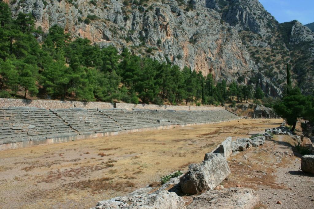 Greece Delphi Stadium
