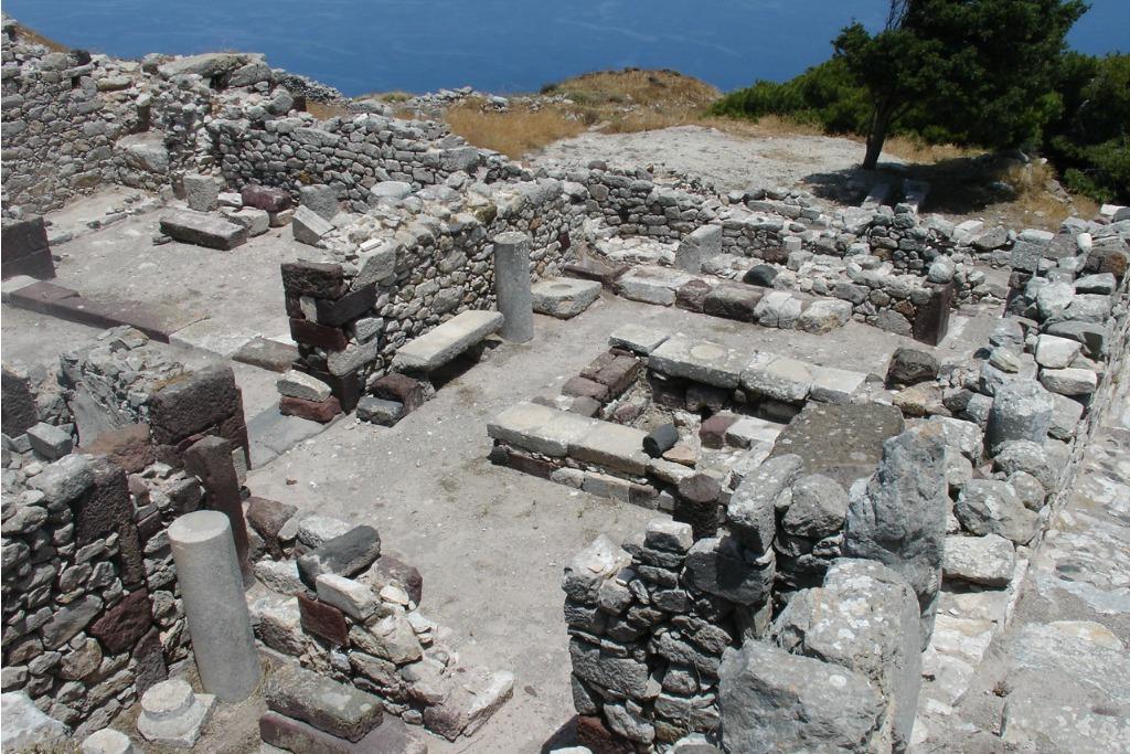 Greece Santorini Ancient Thira