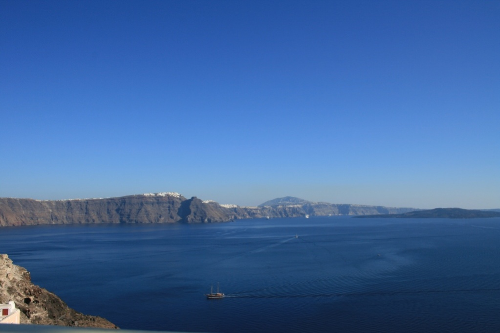 Greece Santorini Caldera