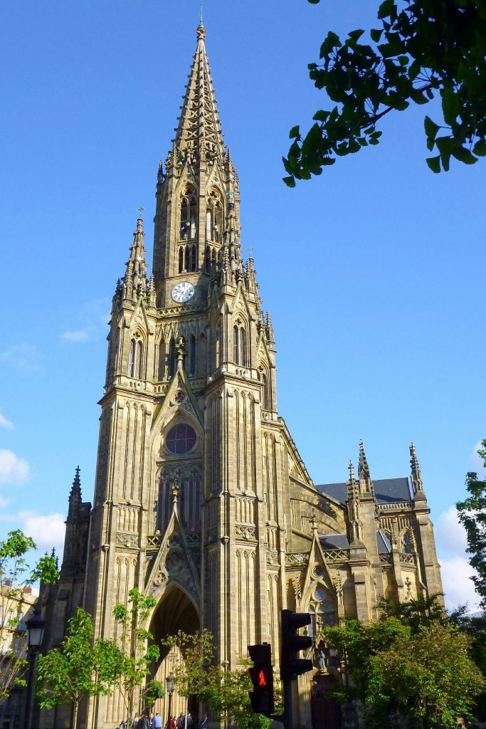San Sebastian Spain Cathedral